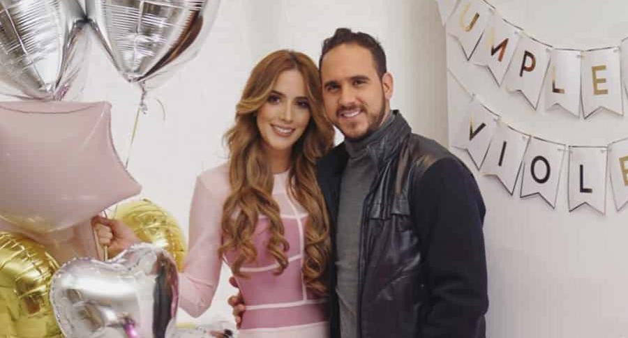 Violeta Bergonzi y Juan David-Bravo