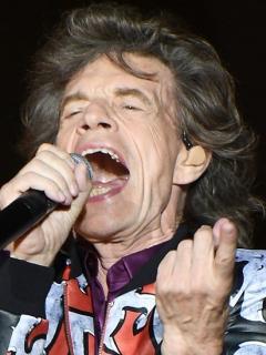 Junior y Mick Jagger