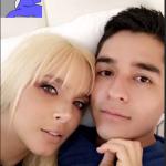 Elizabeth Loaiza y su novio