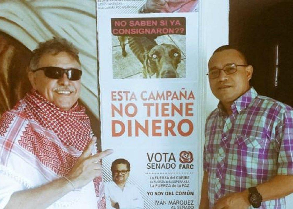 'Jesús Santrich' y 'Alirio Córdoba'