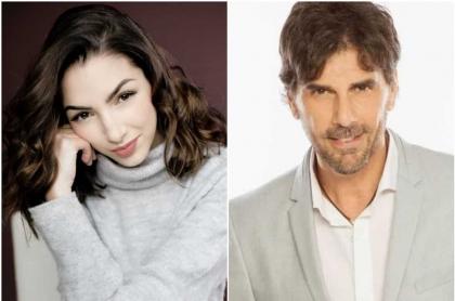 Thelma Fardín y Juan Darthés1