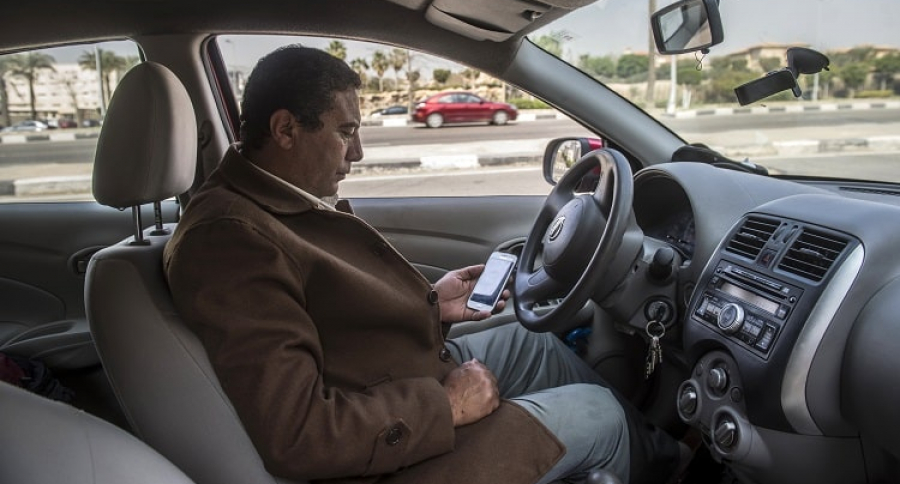 Conductor de Uber