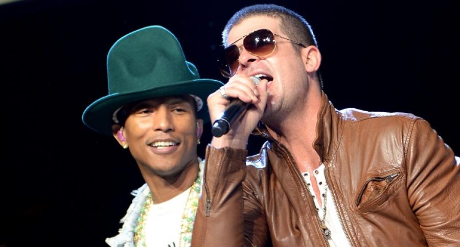Pharrell Williams y Robin Thicke