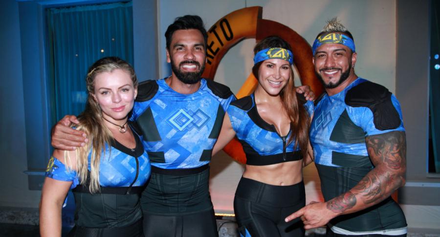 Sandra Muñoz, Salomón Bustamante, Cindy Better y Guillermo Garcés