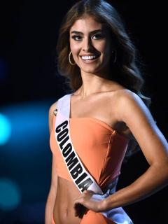 Valeria Morales, Señorita Colombia.