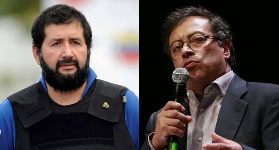 Daniel Barrera y Gustavo Petro