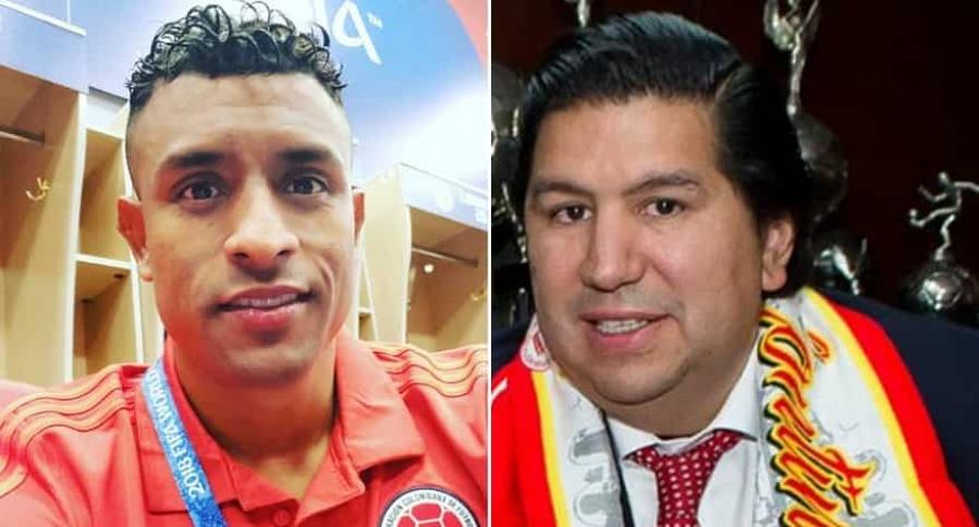 Farid Díaz y Juan Andrés Carreño