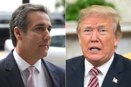 Cohen y Trump