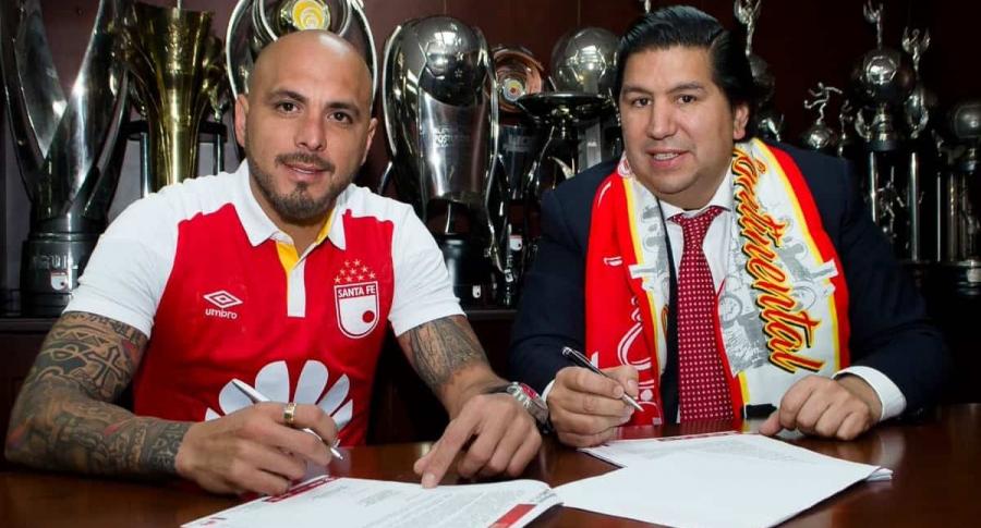 Ómar Pérez y Juan Andrés Carreño