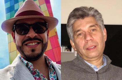 Abelardo de la Espriella y Daniel Coronell