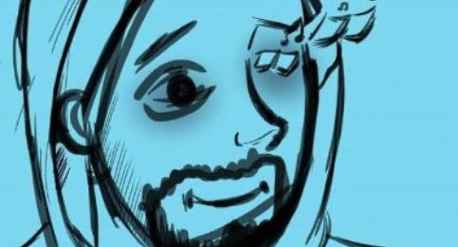 Ilustración del estudiante de Popayán