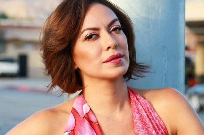 Luz Estrada, actriz colombiana.