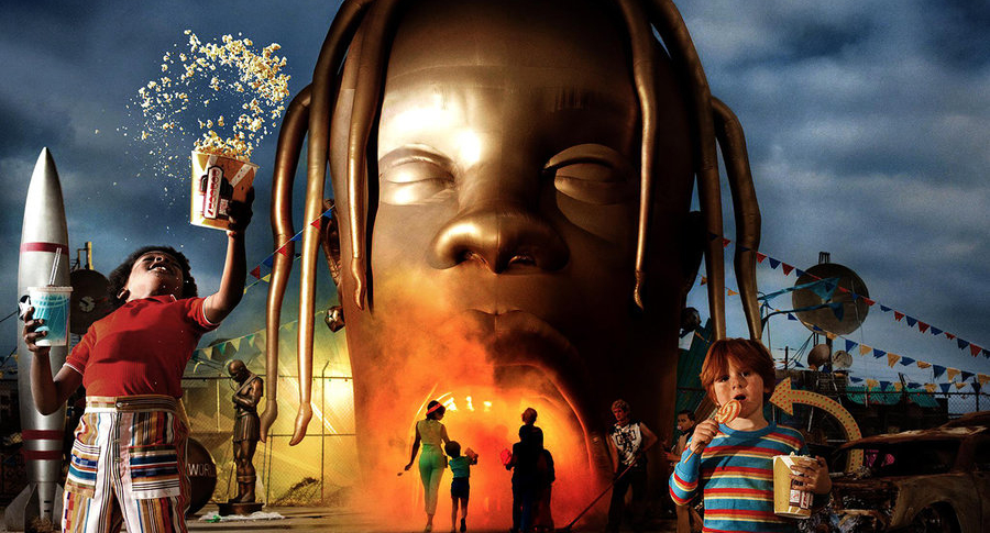 Portada del álbum 'Astroworld' de Travis Scott