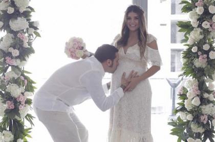 Karen Bray y su esposo, Pablo Monsalva