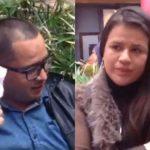 Pareja señalada de robo en Bogotá