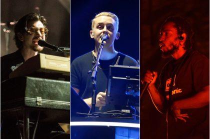 Arctic Monkeys / Disclosure / Kendrick Lamar