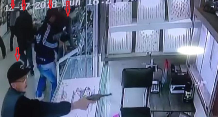 Robo a joyerías en Medellín