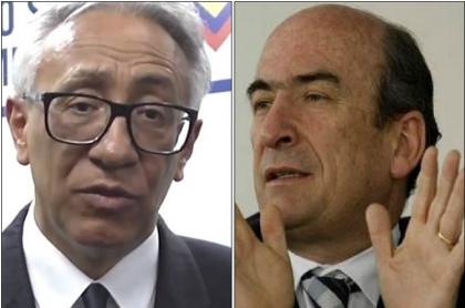 Carlos Valdés y Jorge Enrique Pizano