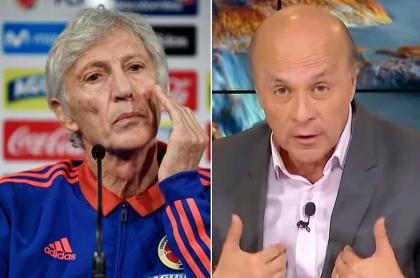 José Pékerman y Carlos Antonio Vélez