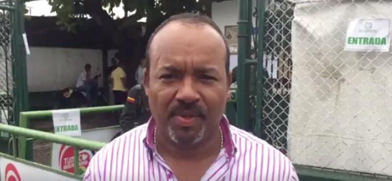 Alcalde de Tumaco, Julio César Rivera,