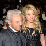Shakira y William Mebarak, su padre