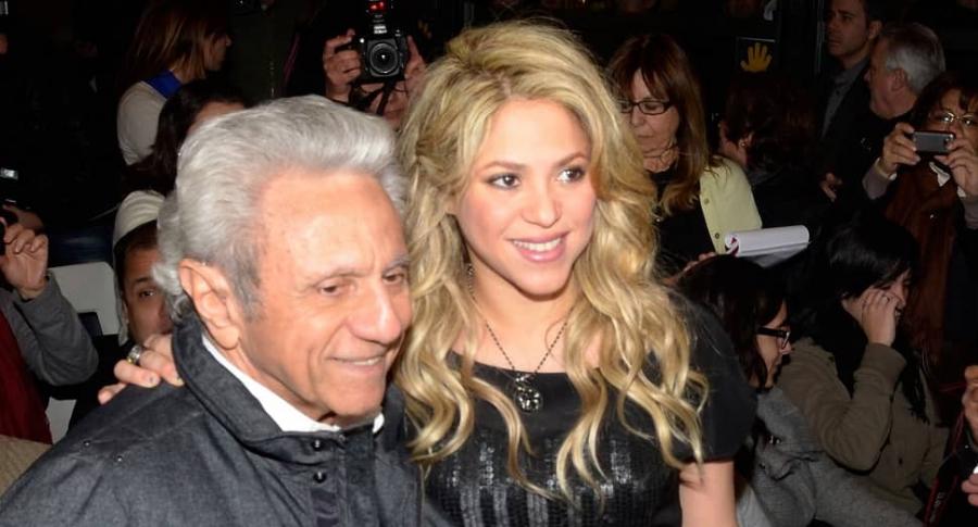 Shakira y William Mebarak, su padre