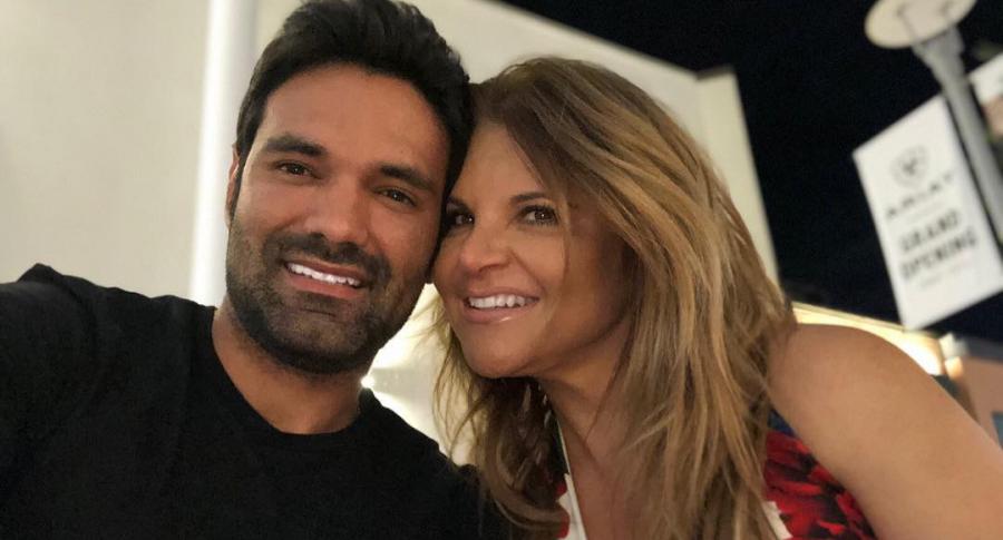 Rafael Caparroso y Diva Jessurum