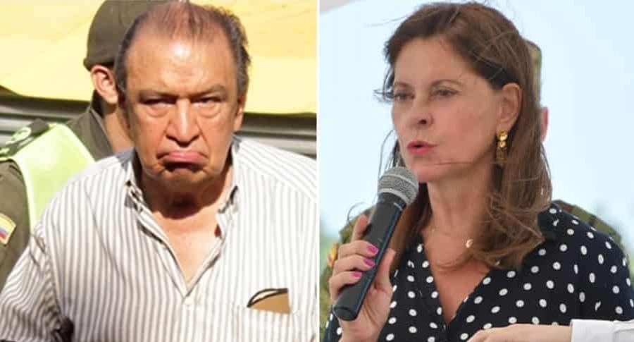 Gabriel Camargo y Marta Lucía Ramírez