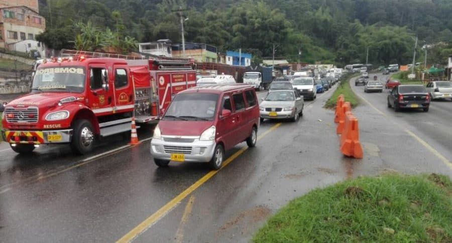 Accidente carretera