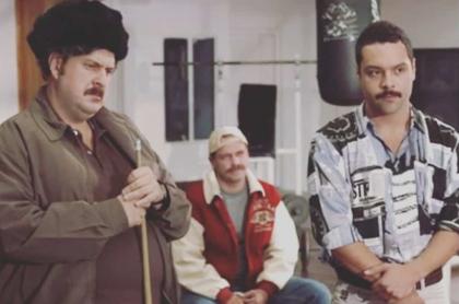 Andrés Parra y Andrés Torres, actores.