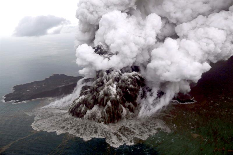 Volcán Anak Krakatoa