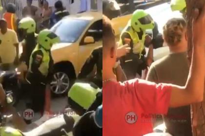 Presunto caso de fleteo en Cartagena