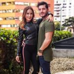 Johanna Fadul y 'Juanse' Quintero