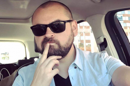 Ricardo Quevedo, comediante.