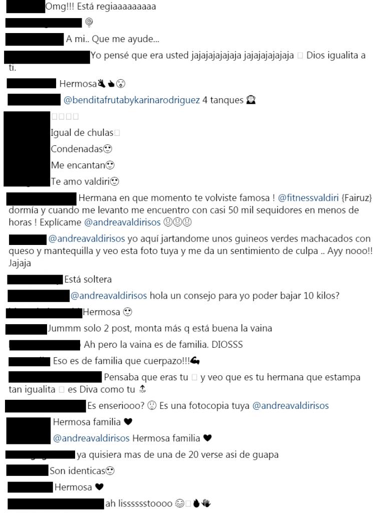 Comentarios a foto de Valdiri