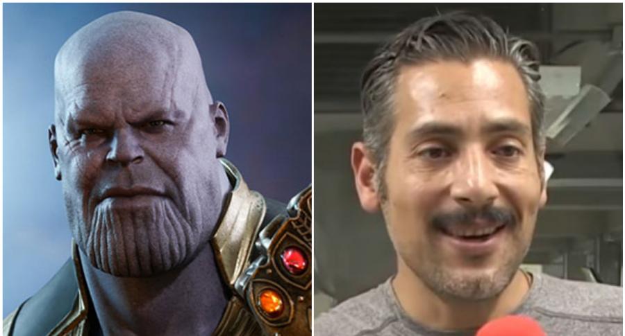 Thanos y Juan Carlos Tinoco