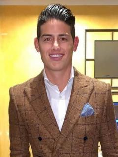 James Rodríguez, futbolista, Shannon de Lima, modelo.