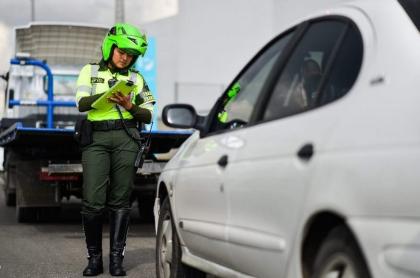 Policía de Tránsito, comparendo