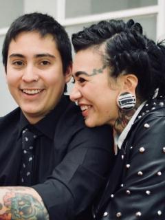 Esteban Madrigal y Verónica Duque