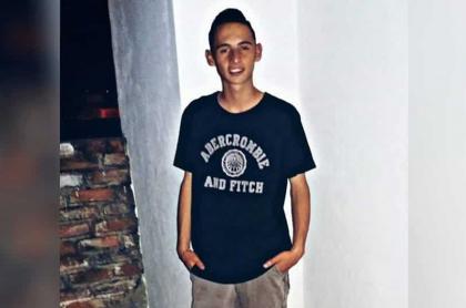 Edilson David Triana Rodríguez, menor asesinado