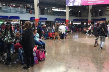 Terminal de Transportes Salitre, Bogotá