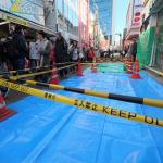 Policía acordona la zona del atropellamiento masivo en Tokio