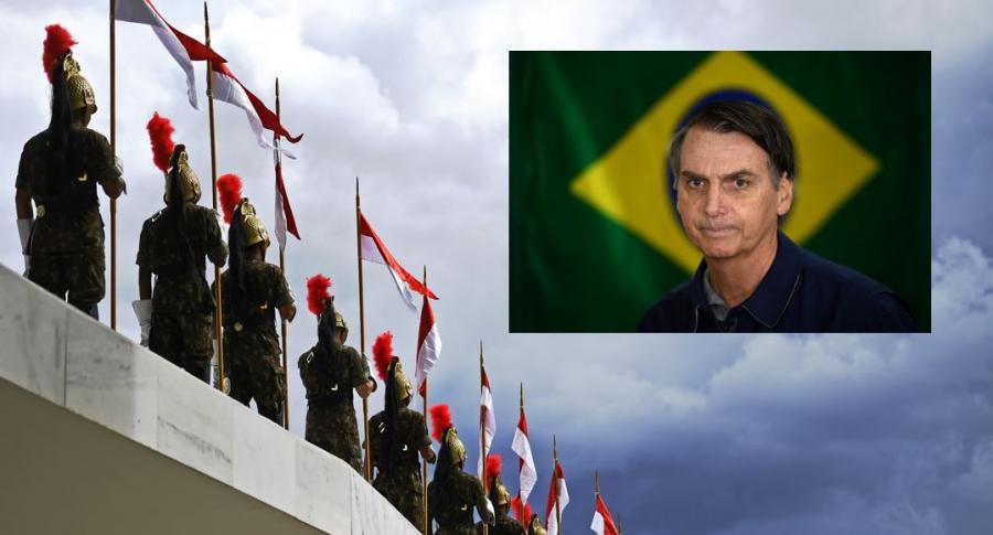 Guardia de Brasil y Jair Bolsonaro