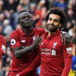 Sadio Mané, Mohamed Salah y Pierre-Emerick Aubameyang