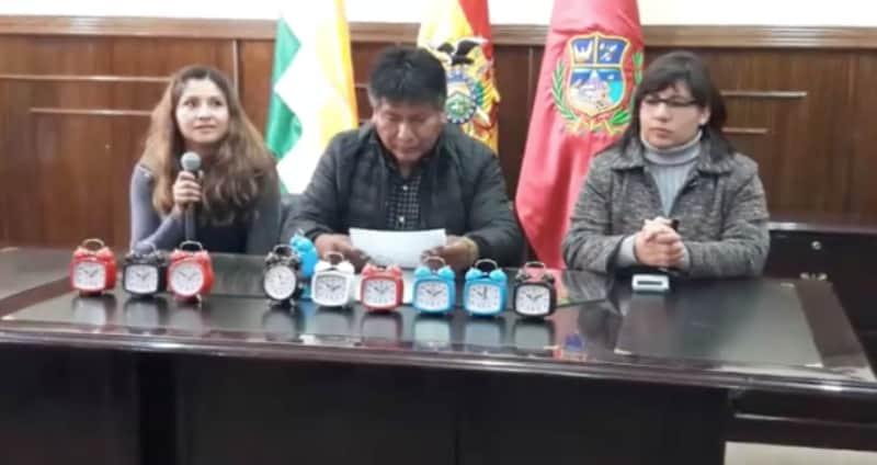 Gobernador boliviano
