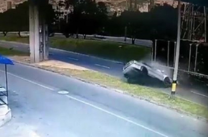 Accidente en Medellín
