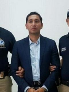 Luis Gustavo Moreno detenido