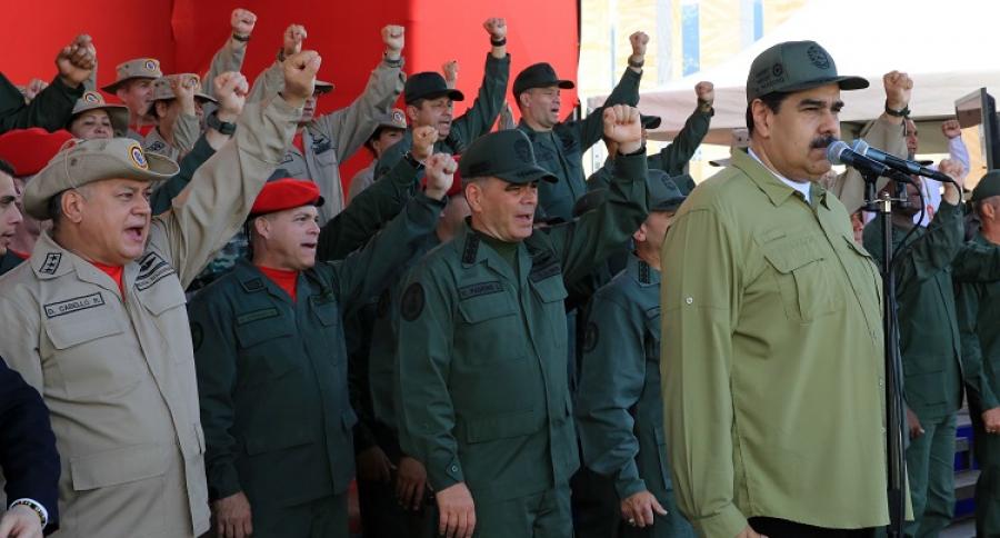Cúpula del gobierno venezolano