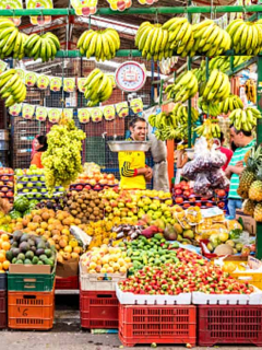 Peruanos están encantados con estas 5 frutas colombianas; ¿qué tienen de raro?