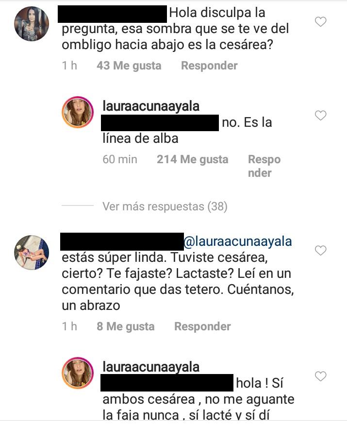 Comentarios post Laura Acuña